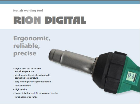 Tài liệu máy hàn nhựa cầm tay RiOn & RiOn Digital