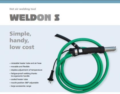 Tài liệu máy hàn nhựa cầm tay WeldOn S