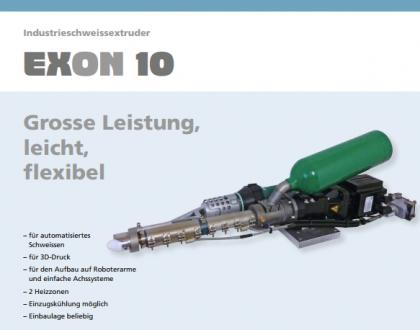 Tài liệu máy hàn đùn ExOn 10