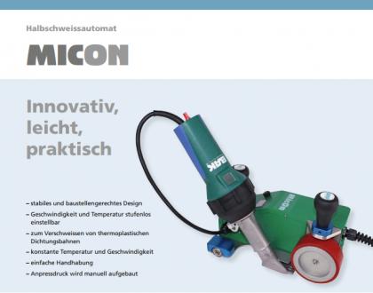Tài liệu máy hàn ép tự động MicOn