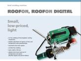 Tài liệu máy hàn ép tự động RoofOn & RoofOn Digital