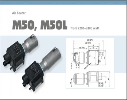 Tài liệu thiết bị gia nhiệt Type M50