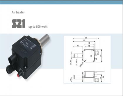 Tài liệu thiết bị gia nhiệt Type S21