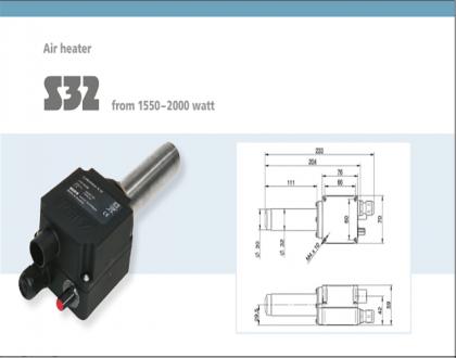 Tài liệu thiết bị gia nhiệt Type S32