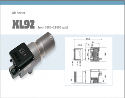 Tài liệu thiết bị gia nhiệt Type XL92