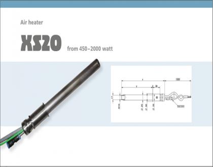 Tài liệu thiết bị gia nhiệt Type XS20